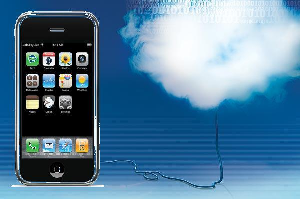 Computação em nuvem com Iphone (quase)