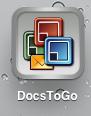 Editando seus documentos nas nuvens com DocsToGo e iphone