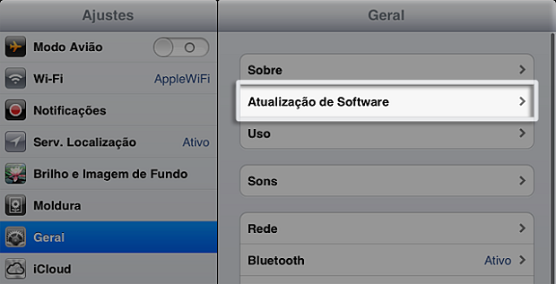 Como atualizar o iPhone/iPad/iPod Touch para o iOS 6