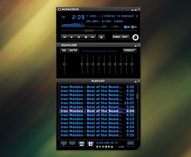 Lançado beta 1 do Audacious 3.4 reprodutor de músicas rápido e leve
