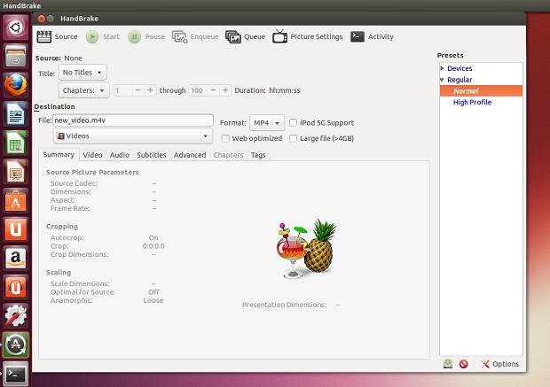 Dicas de coisas para fazer depois de instalar o Ubuntu 13.04 parte 17 – Instalando o HandBrake no Ubuntu