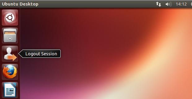 Como fazer logout da conta do usuário atual a partir de um lançador do Unity