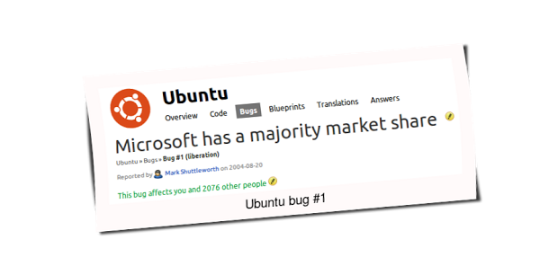 Mark Shuttleworth encerrou o bug número 1 do Ubuntu
