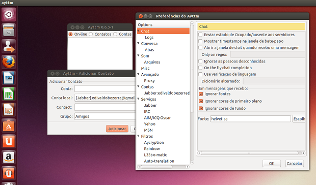 chat - Dicas de coisas para fazer depois de instalar o Ubuntu 13.04