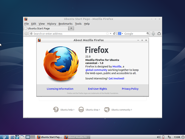 Lubuntu 13.10 larga Chromium e passa a usar Firefox
