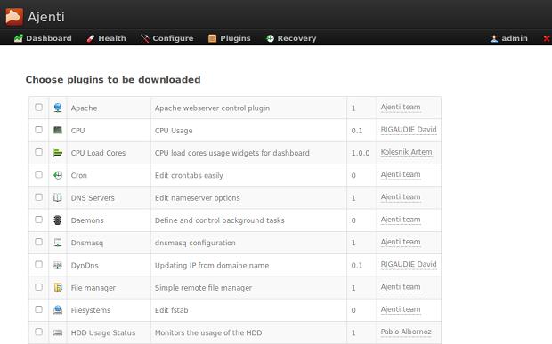 Ajenti no Ubuntu