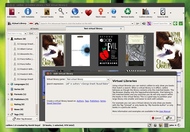 calibre-virtual-library