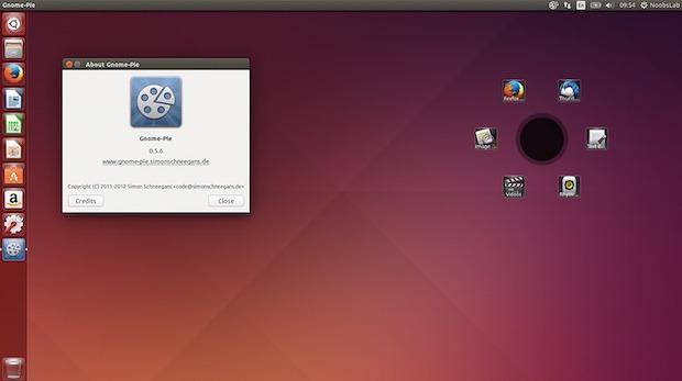 Lançador de aplicativos circular: Instale Gnome-Pie no seu desktop