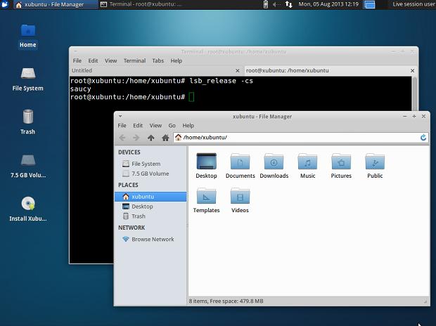 Imagem ISO do Xubuntu 13.10 com XMir disponível para testes