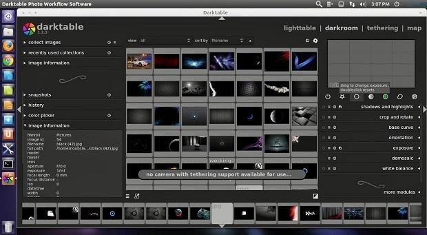 darktable-1Processamento de fotos em formato RAW: Instale Darktable no Ubuntu