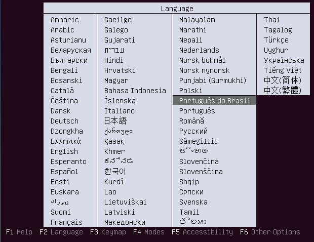 Como instalar o Ubuntu Server