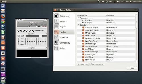 Instale o reprodutor de áudio QMMP Media Player no Ubuntu e derivados