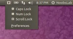 Instale o Keylocks Indicator no Ubuntu e derivados