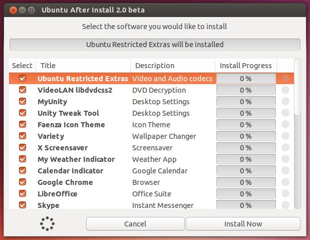 Ubuntu completo - instale o Ubuntu After Install