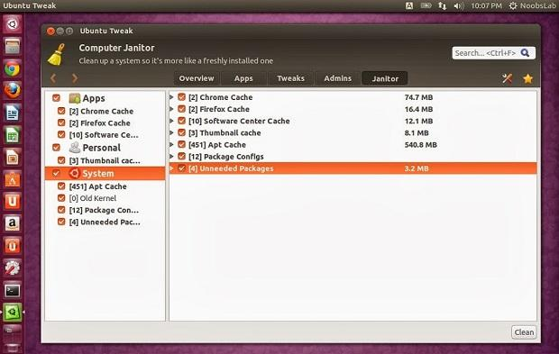 Como instalar a ferramenta de configuração Ubuntu Tweak