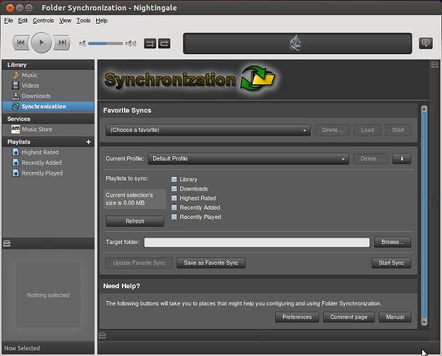 Como instalar o Nightingale media player no Ubuntu, Linux Mint e derivados
