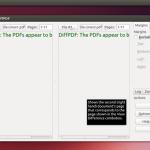 Comparar arquivos PDF - Instale o DiffPDF no Ubuntu e derivados