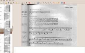 exportar para pdf com gscan2pdf