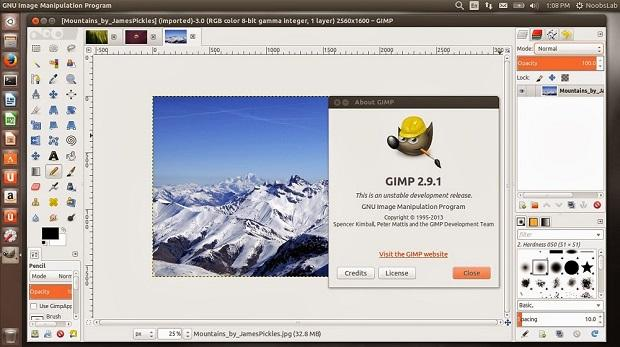 gimp3 - Lançado o Gimp 2.9.1 - instale no Ubuntu e derivados