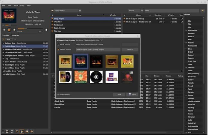 Como instalar player de áudio Sayonara no Ubuntu