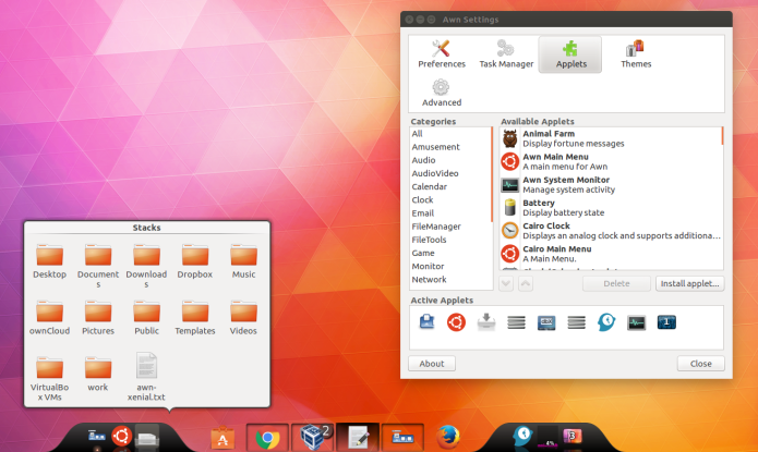 Dock lançador de aplicativos: como instalar a Avant Window Navigator no Ubuntu e seus derivados