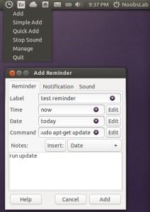 Lembretes: Instale Reminder Indicator no Ubuntu e derivados