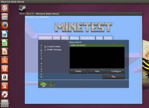 Minecraft alternativo: instale o Minetest no Ubuntu
