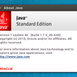 Como instalar as últimas versões do Oracle Java no Ubuntu