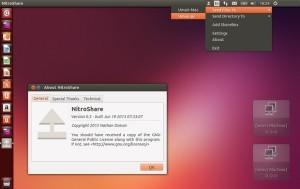 Como instalar o app de transferência de arquivos NitroShare no Ubuntu, Fedora, Arch Linux e derivados
