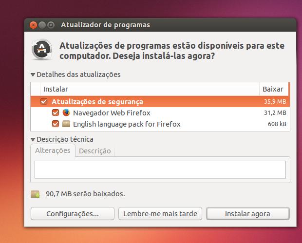 Como atualizar o Firefox para a última versão no Ubuntu e derivados