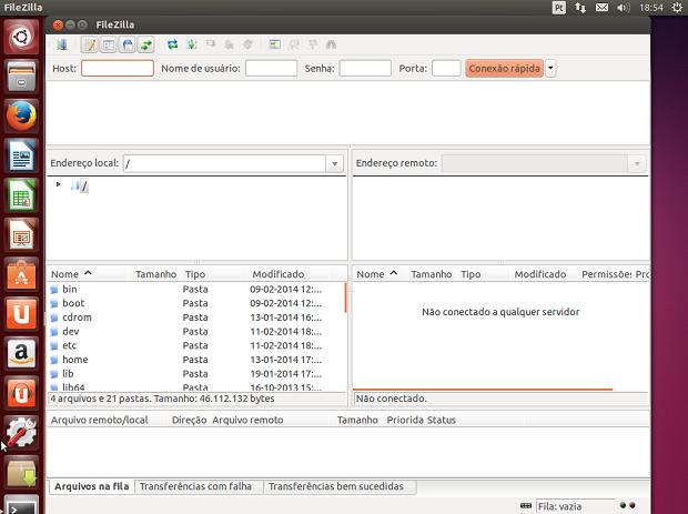 Como instalar a versão mais recente do cliente FTP FileZilla no Ubuntu