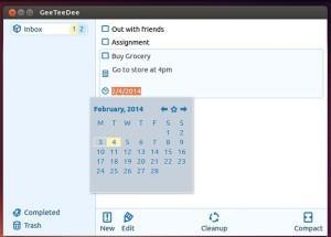 Gerenciador de tarefas: Instale o GeeTeeDee Debian, Ubuntu e derivados