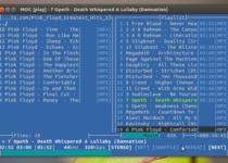 MOC um reprodutor de música para Linux leve e fácil de instalar