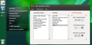 Instale o QLE Unity Quicklist Editor no Ubuntu e derivados