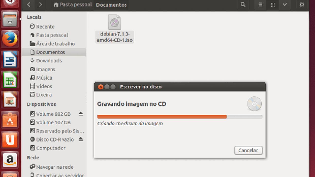 como abrir arquivo iso no ubuntu