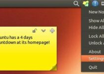 Anotações no Desktop? Instale Sticky Notes Indicator no Ubuntu