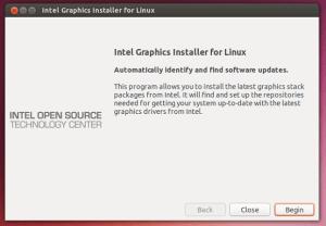 Suporte a placas gráficas da Intel: Instalando o Intel Graphics Installer no Ubuntu 14.04