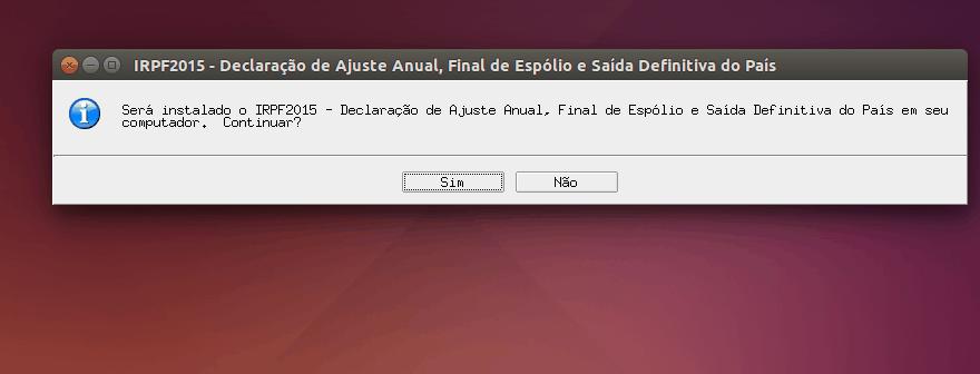 irpf no linux