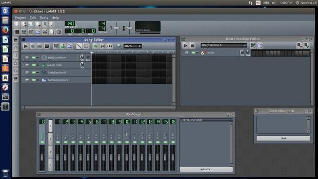 Criando musica no computador: Instale o Linux Multimedia Studio no Ubuntu e derivados