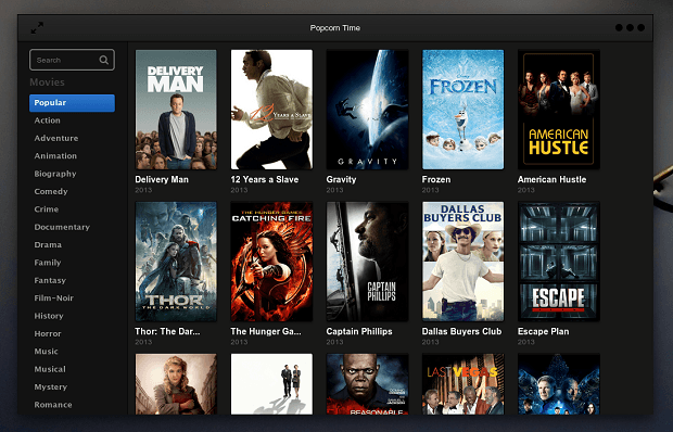 Popcorn Time ubuntu