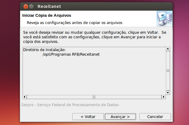 Como instalar o Receitanet no Linux