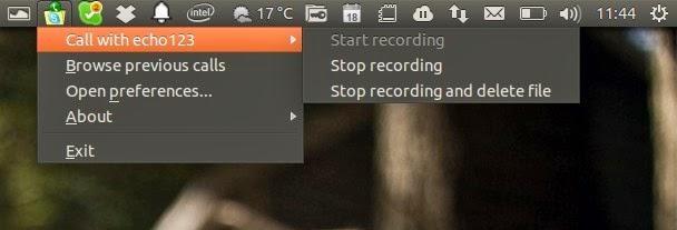Gravar chamadas Skype no Linux - veja como fazer usando o Skype Call Recorder