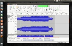Gravação e edição de áudio - Instale Audacity no Ubuntu e derivados