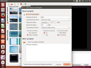 Criação de DVD no Linux