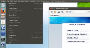 Como ativar um menu global Unity para aplicações Java como Android Studio, NetBeans, IntelliJ IDEA