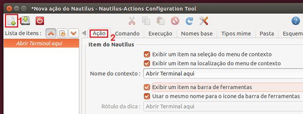 Como adicionar a opção 'Abrir Terminal aqui' no menu do Nautilus