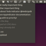 Gerenciamento de tarefas: Instale Todo Indicator, um Ubuntu AppIndicator para todo.txt