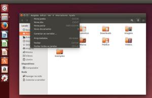 Como colocar o menu dos programas na barra de titulo no Unity