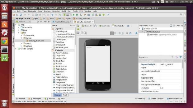 android studio no ubuntu