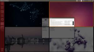 Como colocar um papel de parede diferente em cada área de trabalho do Ubuntu